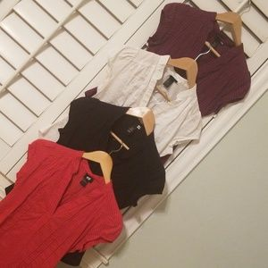 H&M tops, perfect for work!